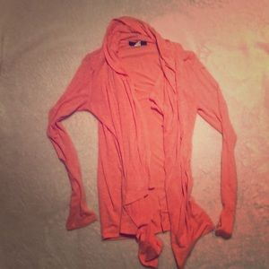 Forever 21 Coral Cardigan
